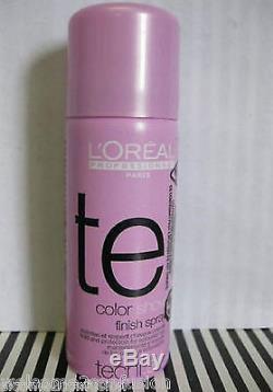 100 Loreal Tecni Art COLOR Show Finish Hair Spray 1.7 oz each NEW @