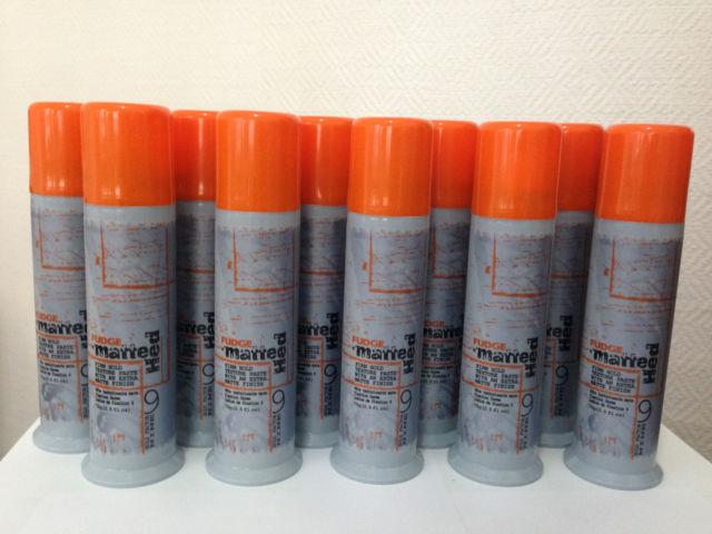 10 X Fudge Matte Hed Firm Hold Texture Paste Matte Finish 75ml Tracking Number