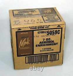 12 x MINK DIFFERENCE HAIR SPRAY 7 Oz Can (sealed case, 1990)