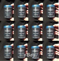 12 x OSMO HAIR CLAY WAX 100ML / 3.3 FL. OZ