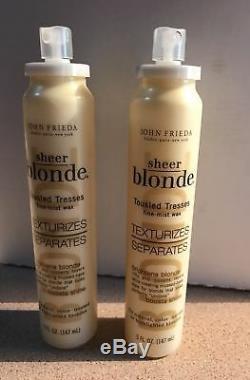 1 John Frieda Sheer Blonde Tousled Tresses Fine Mist Wax, TEXTURIZES & SEPARATES