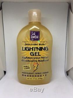 (1) La bella golden sun light'ning Hair Gel #9 17 Fl Oz TURNED LIQUID