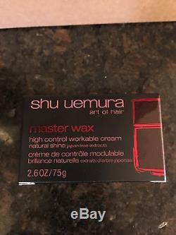 23 Of SHU UEMURA MASTER WAX HIGH CONTROL WORKABLE CREAM BRAND NEW