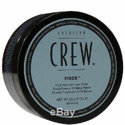 24 Pezzi American Crew Fibra 85 Gr Cera Cabello a Fijación Fuerte, Acabado Mate