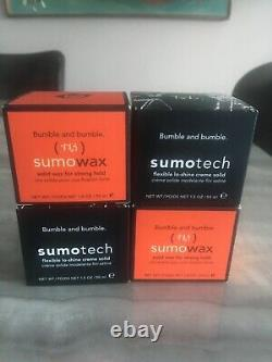 2+2 Offer Two Bumble Sumo Wax and Two Sumotech BNIB Rare! Amazing Offer