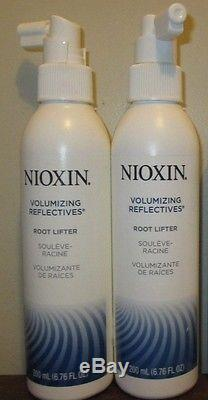 (2) NIOXIN VOLUMIZING REFLECTIVES ROOT LIFTER 6.8 OZ each