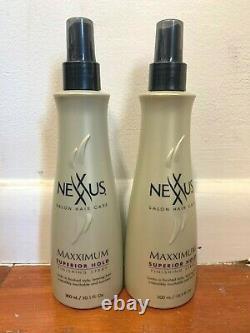 2 Nexxus Maxximum Superior Hold Finishing Spray 10.1 Oz. Each
