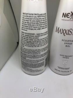 (2) Nexxus Maxxistyler Sculpting Spray Gel 13.5 oz ORIGINAL FORMULA