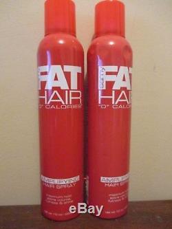 (2) Samy Fat Hair 0 Calories Amplifying Hair Spray 10 oz