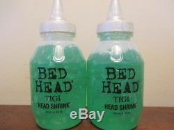 (2) Tigi Bed Head Head Shrink Mega Firm Gel 8.5 oz