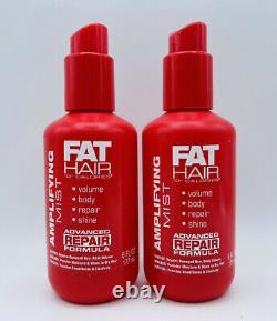 2 x Fat Hair 0 Calories AMPLIFYING MIST Advanced Repair Formula 6 oz Free Ship