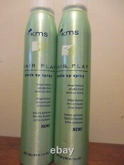 2x KMS Hair Play Paste Up Spray 7oz