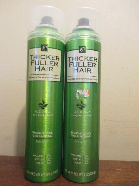 2x Thicker Fuller Hair Weightless Volumizing Hair Spray Cell-u-plex 8oz