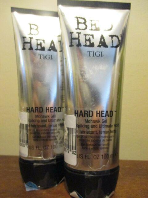2x Tigi Bed Head Hard Head Mohawk Gel 3.4oz
