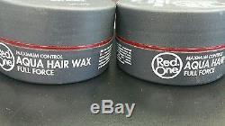 30X RedOne AQUA HAIR WAX 150mL 5.1 FL. OZ. NEW BEST WAX Black 12x