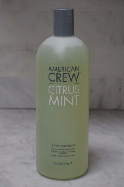 33.8 Oz. American Crew Citrus Mint Active Shampoo. 1,000ml. Liter. New