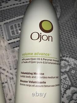 3X Ojon volume advance volumizing mousse Hard To Find 8.8 Oz Each