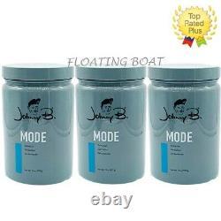 3 Pack of Johnny B Mode Hair Styling Hair Gel 32 oz Med Hold Wet Look