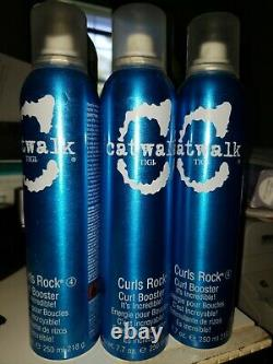 3 Pack of TIGI CATWALK CURLS ROCK CURL BOOSTER 7.7 OZ EA