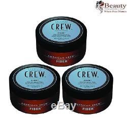3 x American Crew Fiber 85g (Pack Of 3)