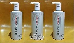 3 x SEBASTIAN POTION 9 WEARABLE-STYLING TREATMENT 500ML / 16.9OZ