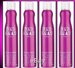 4 Bed Head TIGI SUPERSTAR Queen for a Day Thickening Spray 10.2oz Each (906)