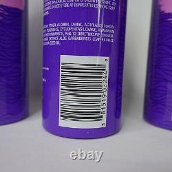 4x Aussie SPRUNCH Hairspray Level 1 Flexible Hold aerosol UV Protection 10oz