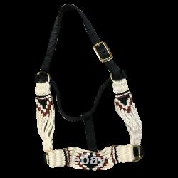 5 Star Equine Products Mohair Hair Halter Style C