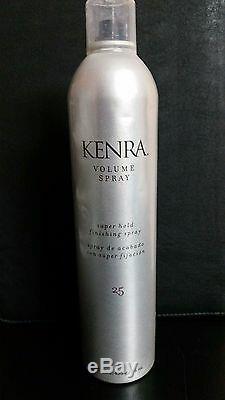 6 X KENRA #25 VOLUME SPRAY SUPER HOLD FINISHING HAIRSPRAY 16 oz BIG BOY