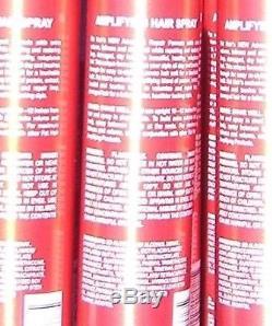 6 x Samy Fat Hair 0 Calories Amplifying Hair Spray 10 oz Volumizes repairs