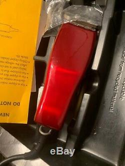 90 Years Candy Red Limited Edition Andis Master Clipper