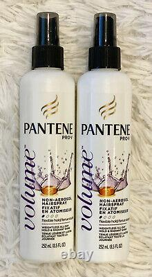 9x Pantene Pro-V Volume Non-Aerosol Hairspray Flexible Hold 8.5 oz NEW