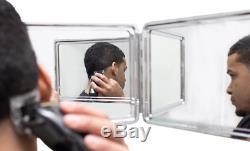 Accesorios para Barbero Maquillaje Peinados Espejos Baño Cortar Pelo Aseo hombre