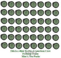 American Crew Forming Cream 1.75oz (48pk. Bundle) Free Next Bus Day Ship