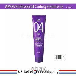Amos Curling Hair Essence 2X 150 ml (5 fl. Oz) + FREE SAMPLE US SELLER