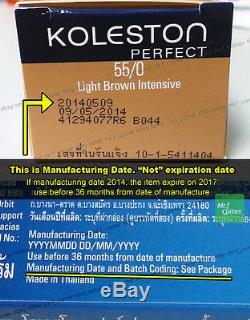 Any 30pcs Wella Koleston Perfect Permanent Hair Color Dye 60g