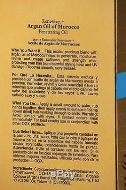 Argan Oil of morocco penetrating oil all hair types 100ml Organix renewing