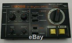 BOSS Dr-55 Dr. Rhythm Vintage Analog Drum Machine Roland Working. Nice with Box