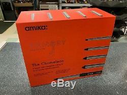 BRAND NEW AMIKA The Chameleon 5 Barrel Interchangeable Curling Kit NIB