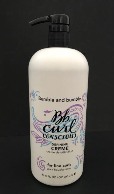 Bumble And Bumble Curl Conscious Defining Creme Cream 33.8 Oz New Discontinued