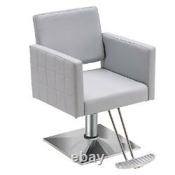 BarberPub Classic Barber Chair Hydraulic Beauty Salon Hair Styling Chair 8821