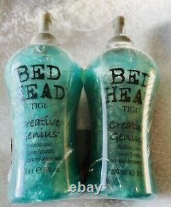 Bed Head Creative Genius Sculpting Liquid 8oz. New RARE HTF (2) Bottles Total
