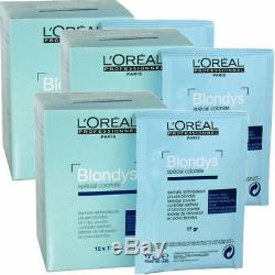 Blondys Reinforcing Powder 3 box = 36 x 17gr l'Oreal decolorante testa intera