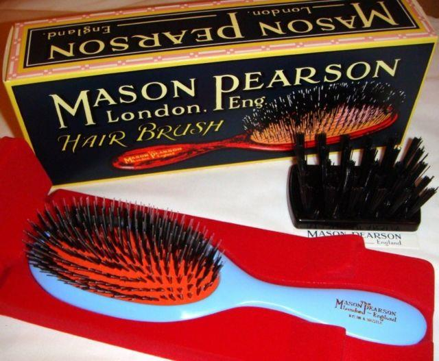 (blue) Mason Pearson Brushes Bristle/nylon Popular Bn1. Brand New