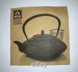 Brand New Teavana Hobnail Cast Iron Tea Pot, Black, 30 OZ Made in Japan (1030)