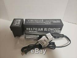 Brazilian Blowout 1.25 Prodigital Titanium Flat Iron Brand New