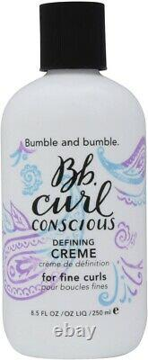 Bumble and Bumble BB Curl Conscious Defining Creme for Fine Curls 8.5 oz. New