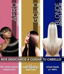 CIRUGIA CAPILAR ELEGANCE AFRO BRAZILIAN HAIR STRAIGHTENER 2 Steps 32 Oz