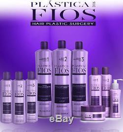 Cadiveu Plastica dos fios Brazilian Keratin kit hair treatment 3 x 1000ml 34oz