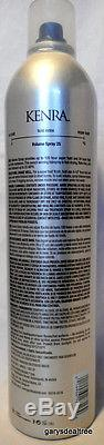Case of KENRA #25 VOLUME SPRAY SUPER HOLD FINISHING HAIRSPRAY 16 oz x 12 cans